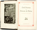 Books:Literature Pre-1900, [Gustave Dore, illustrator]. Honore de Balzac. Droll Stories. Bibliophilist Society, [n.d.]. Original black cloth. F...
