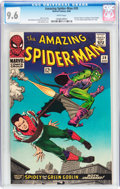 Silver Age (1956-1969):Superhero, The Amazing Spider-Man #39 (Marvel, 1966) CGC NM+ 9.6 Whitepages....