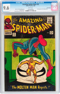 Silver Age (1956-1969):Superhero, The Amazing Spider-Man #35 Suscha News pedigree (Marvel, 1966) CGCNM+ 9.6 White pages....