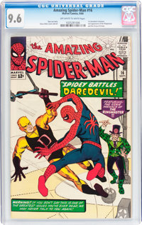 The Amazing Spider-Man #16 (Marvel, 1964) CGC NM+ 9.6 Off-white to white pages