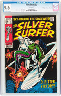 Silver Age (1956-1969):Superhero, The Silver Surfer #11 Don/Maggie Thompson Collection pedigree (Marvel, 1969) CGC NM+ 9.6 White pages....