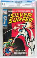 Silver Age (1956-1969):Superhero, The Silver Surfer #7 Don/Maggie Thompson Collection pedigree (Marvel, 1969) CGC NM+ 9.6 White pages....