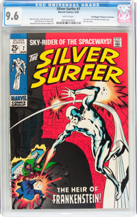 The Silver Surfer #7 Don/Maggie Thompson Collection pedigree (Marvel, 1969) CGC NM+ 9.6 White pages