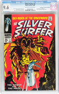 Silver Age (1956-1969):Superhero, The Silver Surfer #3 Don/Maggie Thompson Collection pedigree (Marvel, 1968) CGC NM+ 9.6 Off-white to white pages....