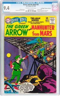 The Brave and the Bold #50 The Green Arrow and Manhunter from Mars - Don/Maggie Thompson Collection pedigree (DC, 1963)...