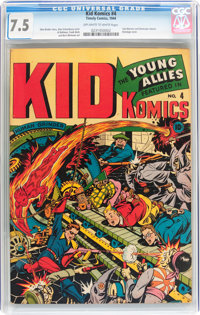 Kid Komics #4 (Timely, 1944) CGC VF- 7.5 Off-white to white pages