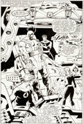 Original Comic Art:Splash Pages, John Buscema Fantastic Four #298 Splash Page 24 Original Art(Marvel, 1987)....