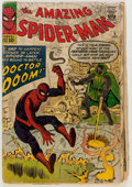 Silver Age (1956-1969):Superhero, The Amazing Spider-Man #5 (Marvel, 1963) Condition: FR/GD....