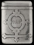 Silver Smalls:Match Safes, A SHREVE & CO. SILVER MATCH SAFE, San Francisco, California,circa 1910. Marks: SHREVE & CO. Sterling, 133. 2-1/4inches...