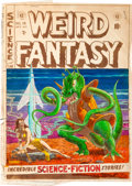 Memorabilia:Comic-Related, EC Weird Fantasy #15 Cover Silverprint Proof (EC, 1952)....