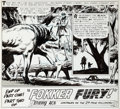 "Original Comic Art:Panel Pages, Joe Kubert Our Army At War #155 ""Fokker Fury!"" Page 5 Original Art (DC, 1965)...."