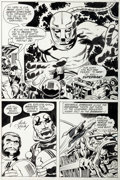 "Original Comic Art:Panel Pages, Jack Kirby and Vince Colletta Superman's Pal, Jimmy Olsen#135 ""Evil Factory"" Page 4 Original Art (DC, 1971)...."