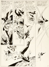 """Joe Kubert The Brave and the Bold #43 Hawkman Story """"The Masked Marauders of Earth!"""" Page 18 Original Art (DC..."""