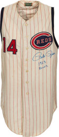 Baseball Collectibles:Uniforms, 1963-64 Pete Rose Game Worn Cincinnati Reds Rookie-Era Jersey, MEARS A9....