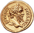 Ancients:Roman Imperial, Ancients: Septimius Severus (AD 193-211). AV aureus (20mm, 6.89 gm, 6h)....
