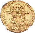 Ancients:Byzantine, Ancients: Justinian II, first reign (AD 685-695). AV solidus (20mm,4.32 gm, 7h). ...