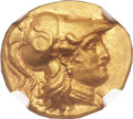 Ancients:Greek, Ancients: MACEDONIAN KINGDOM. Alexander III the Great (336-323 BC). AV stater (19mm, 8.57 gm, 2h)....