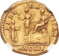 Ancients:Roman Imperial, Ancients: Antoninus Pius (AD 138-161). AV aureus (18mm, 7.40 gm, 6h)....