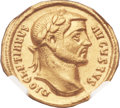 Ancients:Roman Imperial, Ancients: Diocletian (AD 284-305). AV aureus (20mm, 5.44 gm, 6h). ...