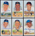 "Baseball Collectibles:Others, 1989 Perez Steele ""Celebration"" Cards Lot of 45 - 7 Signed...."