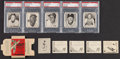 Baseball Cards:Sets, 1952 Parkhurst Baseball Partial Set (30) and Opened Pack With Five Cards. ...