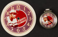 Baseball Collectibles:Others, Circa 1970's Roberto Clemente Pocket Watch and Card....
