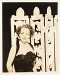 Movie/TV Memorabilia:Autographs and Signed Items, A Joan Crawford Signed Black and White Photograph, Circa 1940s....