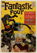 Silver Age (1956-1969):Superhero, Fantastic Four #2 (Marvel, 1962) Condition: GD+....