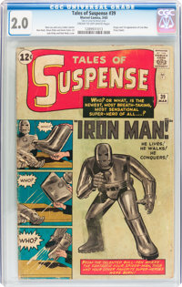 Tales of Suspense #39 (Marvel, 1963) CGC GD 2.0 Cream to off-white pages