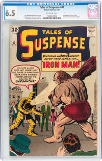 Tales of Suspense #40 (Marvel, 1963) CGC FN+ 6.5 Off-white pages