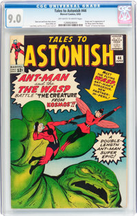 Tales to Astonish #44 (Marvel, 1963) CGC VF/NM 9.0 Off-white to white pages