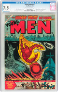 Young Men #25 (Atlas, 1954) CGC VF- 7.5 Off-white to white pages