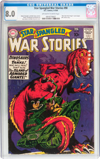 Star Spangled War Stories #90 (DC, 1960) CGC VF 8.0 Off-white to white pages