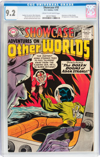 Showcase #18 Adventures on Other Worlds (DC, 1959) CGC NM- 9.2 Cream to off-white pages