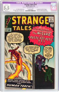 Strange Tales #110 (Marvel, 1963) CGC Apparent FN- 5.5 Slight (P) Off-white pages