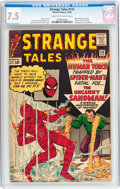 Silver Age (1956-1969):Superhero, Strange Tales #115 (Marvel, 1963) CGC VF- 7.5 Cream to off-white pages....
