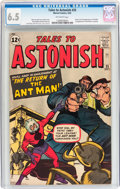 Silver Age (1956-1969):Superhero, Tales to Astonish #35 (Marvel, 1962) CGC FN+ 6.5 Off-white pages....