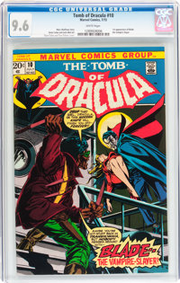Tomb of Dracula #10 (Marvel, 1973) CGC NM+ 9.6 White pages