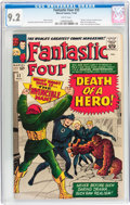 Silver Age (1956-1969):Superhero, Fantastic Four #32 (Marvel, 1964) CGC NM- 9.2 White pages....