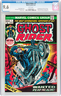 Ghost Rider #1 (Marvel, 1973) CGC NM+ 9.6 White pages