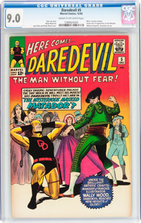 Daredevil #5 (Marvel, 1964) CGC VF/NM 9.0 Cream to off-white pages