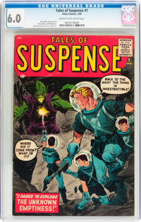 Tales of Suspense #1 (Marvel, 1959) CGC FN 6.0 Cream to off-white pages