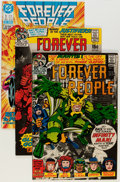 Bronze Age (1970-1979):Superhero, The Forever People #1-11 Complete Run Group (DC, 1971-88)Condition: Average VF except as noted.... (Total: 17 Comic Books)