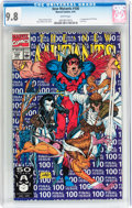 Modern Age (1980-Present):Superhero, The New Mutants #100 (Marvel, 1991) CGC NM/MT 9.8 White pages....