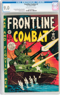 Golden Age (1938-1955):War, Frontline Combat #2 (EC, 1951) CGC VF/NM 9.0 Off-white to whitepages....