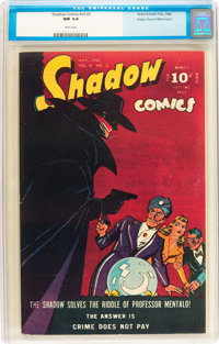 Shadow Comics V6#2 Mile High pedigree (Street & Smith, 1946) CGC NM 9.4 White pages