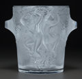 Art Glass:Lalique, LALIQUE GLASS GANYMEDE WINE COOLER, post 1945. Engraved:Lalique, France. 9 inches high x 7-1/2 inches diame...