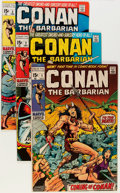 Bronze Age (1970-1979):Adventure, Conan the Barbarian Group (Marvel, 1970-73) Condition: Average VG+.... (Total: 26 Comic Books)