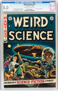 Golden Age (1938-1955):Science Fiction, Weird Science #16 (EC, 1952) CGC VF 8.0 Off-white to whitepages....