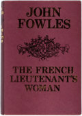 Books:Literature 1900-up, John Fowles. SIGNED. The French Lieutenant's Woman. London:Jonathan Cape, [1971]. Later printing. Signed by the a...